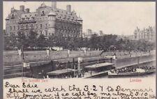 London NEW SCOTLAND YARD used 1904 u/b PPC