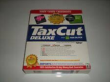 H&R Block TaxCut 2003 Deluxe Tax Cut imports Turbotax. New in box