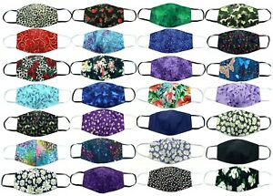 Face Mask Double Sided Washable 100% cotton Reusable USA SAME DAY SHIPPING