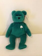 """Erin the Bear"""" Beanie Baby"""" Ty 1997 NO Stamp On Tush Tag! Very Rare!"""