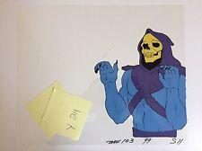 Skeletor Animation Cel He Man Masters Of The Universe Filmation Cartoon Original