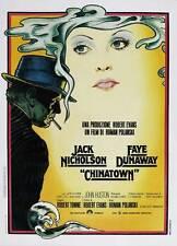 Chinatown Movie Poster 27x40 Italian Roman Polanski Jack Nicholson Faye Dunaway