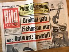 Bildzeitung 12. April 1961 BILD Zeitung 12.04.1961 * 56. 57. 58. Geburtstag