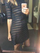 Winter Cotton Blend Dresses Stripes