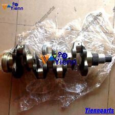 NEW V3300T V3300 V3300DI Crankshaft For Kubota Engine Bobcat S250 Excavator part