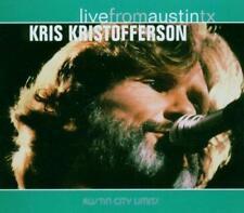 Kris Kristofferson - Live From Austin Texas (NEW CD)