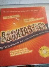 Booktastic First Board Game for Book Lovers Fiction Edition Synsia 2004