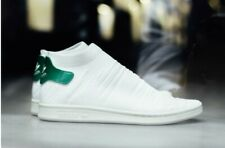 New Adidas Originals Stan Smith Sock Primeknit Women White /Green Shoes US 8