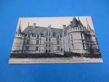 Château d'Azay-le-Rideau France Vintage Unused B&W Postcard PC36