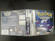 Pokemon Sapphire Nintendo Gameboy Advance Genuine Cart *E