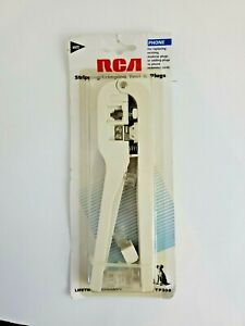 RCA Stripping/Crimping Phone Tool & Plugs (TP308) - New and Sealed