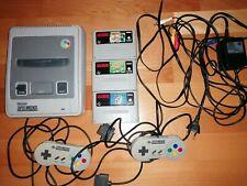Super Nintendo Entertainment System SNES 2 Controller 3 Spiele