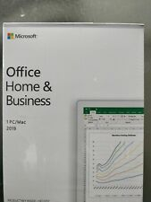 Microsoft Office Home and Business 2019 | RETAIL BOX | Win 10 PC OR MAC OSX |