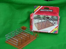 BRITAINS FARM ANIMALS,  CATTLE PENS, MILKING STALLS, BOXED