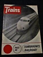 TRAINS Magazine April 1966