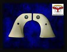 RUGER Magna-Tusk Fishscale IVORY GRIPS ~ BLACKHAWK, OLD VAQUERO, SINGLE SIX ST ^