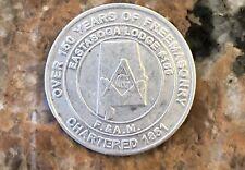 1951-2011 Eastaboga Mason's Coin  #155 1.5 Inch