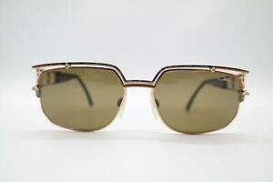 Vintage Cazal 979  Gold Kupfer Oval Sonnenbrille sunglasses Brille NOS