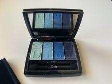 Dior Blue Eyeshadow Palette 001 Blue Colour Gradation - Slightly Damaged Box