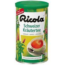 Ricola Swiss herbal instant Tea Kräutertee Made in Switzerland 200g New