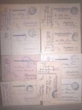 17 Feldpostkarten Postkarten K u.K Marine Feldpost Pola 1915-1916