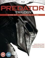 & Predator Trilogy 3 Blu Ray Set Arnold Schwarzenegger 2 Predators