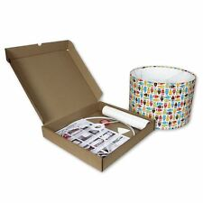 Make your Own Lampshade - 30cm Diameter DIY Lampshade Making Kit by Needcraft