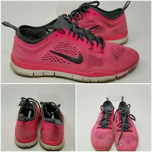 Nike Free 5.0 TR Fit 4 Pink Athletic Running Tennis Shoes Sneaker Women Size 7.5