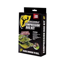ScentBlocker SS Compression Bag Kit - 3 bags (1-Med, 1-Lg, 1-XL)