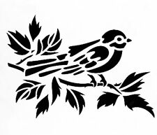 Bird On A Branch Stencil Template Durable & Reusable Plastic Stencils 7x5