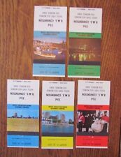 1973 COMPLETE CANADIAN SCENES SET OF 5 -L20