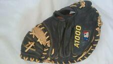 "Wilson Baseball Catcher Mitt Glove A1000 32-1/2"" Ecco Leather Right Hand Throw"