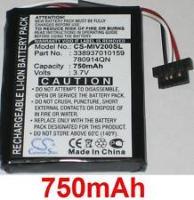 Batterie 750mAh type 338937010159 780914QN Pour Mio Moov 200