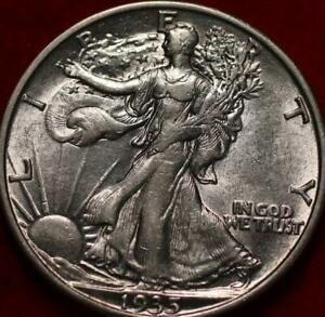 1935-S San Francisco Mint Silver Walking Liberty Half