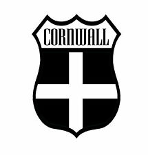 1 X bandera del condado de Cornwall Kérnou Calcomanía Adhesivo Ventana de Coche Moto Portátil