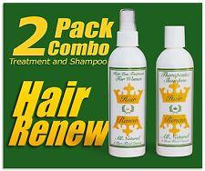 HAIR RENEW 2 COMBO women loss treatment shampoo growth regrowth thin alopecia