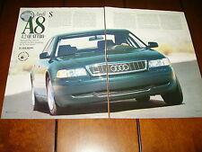 1997 AUDI A8 4.2 QUATTRO ***ORIGINAL ARTICLE / ROAD TEST***