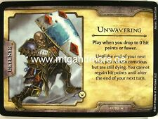 D&D Fortune Cards - 1x Unwavering  #047