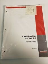 Case Ih Sdx40 Single Disk No Till Air Drill Original Parts Manual Catalog
