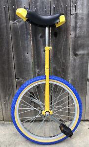 Feichi Cheye Unicycle Yellow and Blue 20 inch Wheel