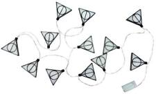 OFFICIAL HARRY POTTER DEATHLY HALLOWS 3D STRING LIGHTS PARTY LIGHT NEW & BOXED