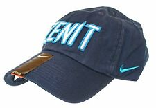 Nike Cap Unisex One Size Navy Blue Baseball Hat %100 Cotton [ Zenit ]