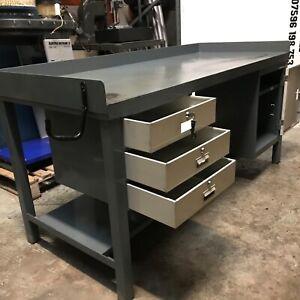Metalwork Workshop Table - Fitters Bench - Garage Bench