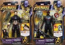 Avengers Infinity Guerra Action Figure Stones Falcon Hasbro 15 Cm