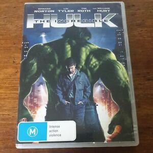The Incredible Hulk DVD R4 Like New! FREE POST