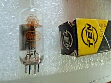 6AV6 EBC91 Ten by Fujitsu Valve Tube New Old Stock 1pc M20