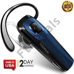 M26 Bluetooth Headset V4.1 Con Microfono Con Cancelacion De Ruido - Azul 2021