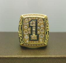 NCAA 2008 Florida Gators National Football Championship Copper Ring 8-14Size