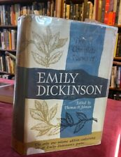 1960 The Complete Poems of Emily Dickinson 1st Edition Hardcover Book