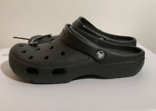 Crocs Coast Clog Unisex Black New With Tags 10M 12W Breathable Water friendly